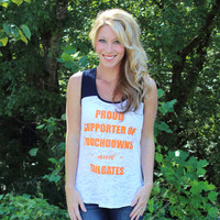 Proud Supporter Tailgate Tank