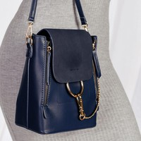 Sidewalk Stunner Navy Blue Backpack