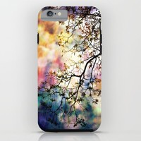 the Tree of Many Colors iPhone & iPod Case by Caleb Troy