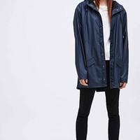 Rains Jacket in Navy - Urban Outfitters