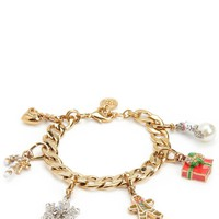 Holiday Charm Bracelet by Juicy Couture