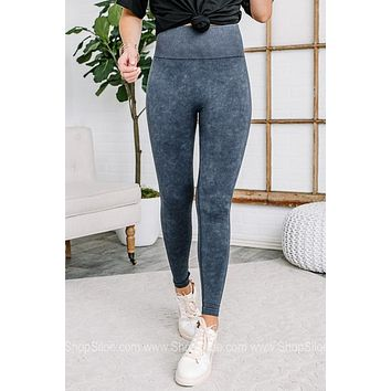 Running Into You Mineral Wash Leggings