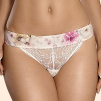 Sexy Sheer Lace Thong Panty Ajour Orsay