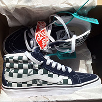 Vans classic mid-cut canvas shoes fashion men's and women's low-top sneakers