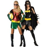 Batgirl and Sexy Robin Couples Costumes