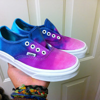 Custom Colored Tye Dye Vans