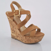 Cork Wedge - Shoes