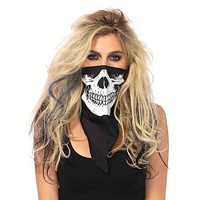 Party Your Face Off Skull Bandanna