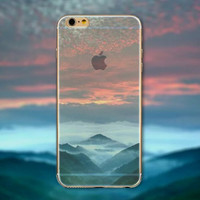 Red Sky Tourism Scenery iPhone 5 5S iPhone 6 6S Plus Case + Nice Gift Box -125