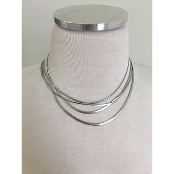 Reel You In Necklace - Silver