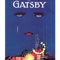 """Poster of the Original Cover of F. Scott Fitzgerald's The Great Gatsby by Francis Cugat 23"""" x 33"""""""