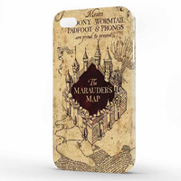 Harry Potter Mourder Map Classic iPhone 4 | 4s Case, 3d printed IPhone case