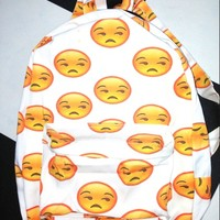 SWEET LORD O'MIGHTY! FU EMOJI BACKPACK
