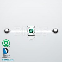 Green Lantern™ Sparkle Industrial Barbell