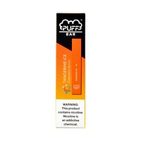 Puff Bar Disposable Pod Device Tangerine Ice