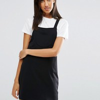 ASOS TALL Pinafore Dress at asos.com
