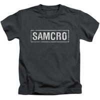 Sons Of Anarchy - Samcro Short Sleeve Juvenile 18/1