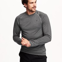 Old Navy Mens Double Knit Waffle Tee