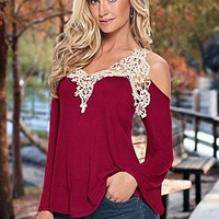 Crochet Bell Sleeve Top