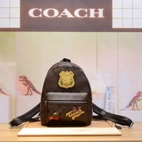 COACH WOMEN'S HOT STYLE LEATHER MINI BACKPACK BAG