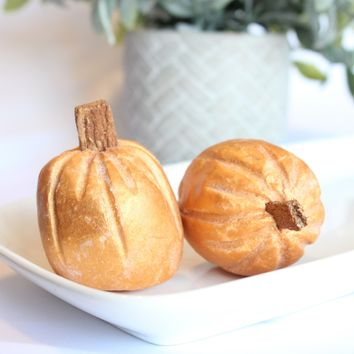 Frosted Pumpkin Cake solid bubble bar