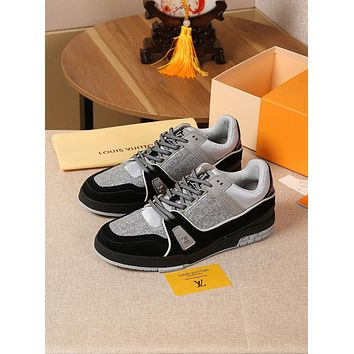 lv louis vuitton womans mens 2020 new fashion casual shoes sneaker sport running shoes 159