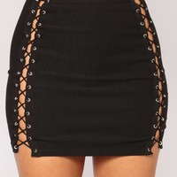 High Expectations Skirt - Black