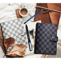 LV Louis Vuitton Hot Sale Fashionable Boys Girls Chic Notebook Portable Hand Book