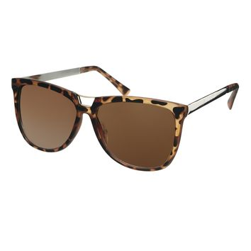 ASOS Bridge Detail Cat Eye Sunglasses With Metal Arms