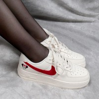 "WMNS Nike Air Force 1 AF1 Low ""Minnie Mouse"" White - Best Online Sale"