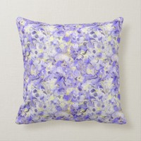 Lavender Swirling Marbled Pattern Cushion | Zazzle.co.uk