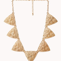 Cutout Craze Geo Necklace