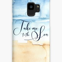 'Take Me to the Sea' Case/Skin for Samsung Galaxy by noondaydesign
