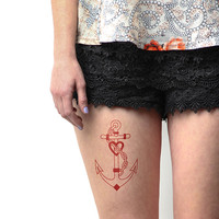 Redbeard - Temporary Tattoo (Set of 2)
