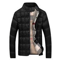 Padded Jackets and Coats Jaqueta Masculina Casual Slim Fit Large Size Veste Hombre Jackets Hombre