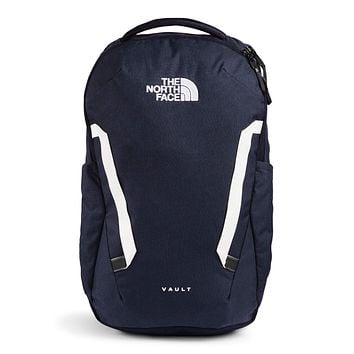 The North Face Vault Backpack One Size Aviator Navy Light Heather/TNF White