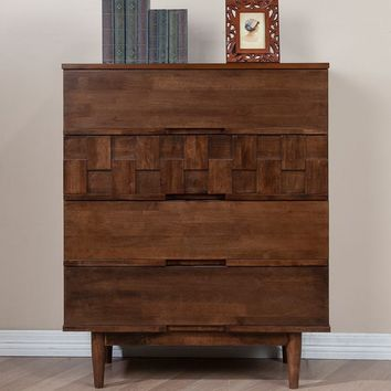 Tessuto 4-drawer Chest   Overstock.com Shopping - The Best Deals on Dressers