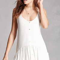 High-Low Peplum Cami