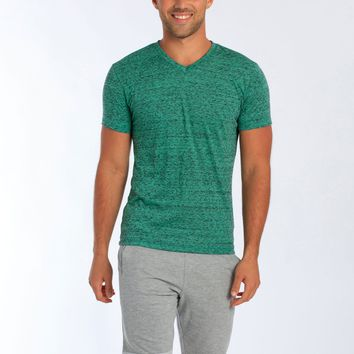 Miami Style® - Men's Tri-Blend V-Neck T Shirt