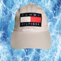 Tommy Hilfiger Dad Hat (White)