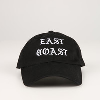 The East Coast Dad Hat in Black