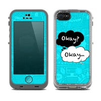 The Fault In Our Stars Okay Speech Bubbles Over Collage Skin for the iPhone LifeProof Case