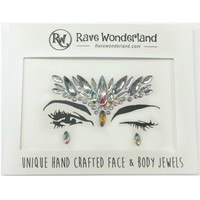 Fairy Queen Silver Festival Face Jewels