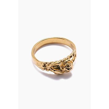 The Rose Gold Ring - Gold
