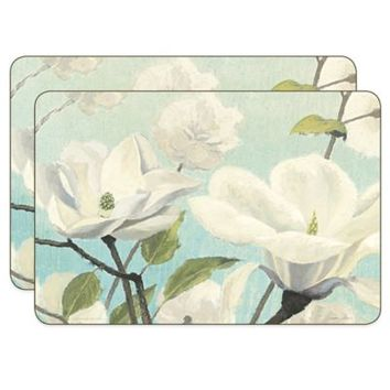 James Wiens Blossoms Cork-Backed Placemats (Set of 2)