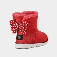 UGG Women Fashion Bow Polka Dots Snow Boots Shoes