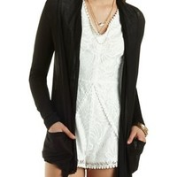 Lightweight Long Sleeve Cardigan by Charlotte Russe