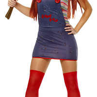 Sexy Chucky Costume - Halloween Costumes