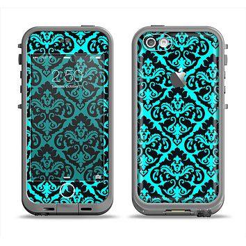 The Delicate Pattern Blank Apple iPhone 5c LifeProof Fre Case Skin Set