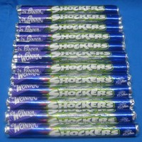 Wonka SHOCKERS Chewy Sour Candy 12 Rolls